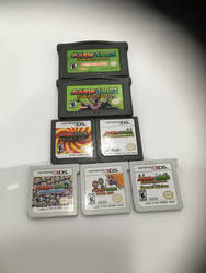 Complete Mario and Luigi Collection by Lucky-Ness21