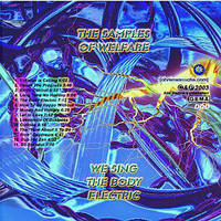 CD Label of we sing the body by Earritation