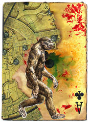 australopithecus curiosity by ScottMan2th