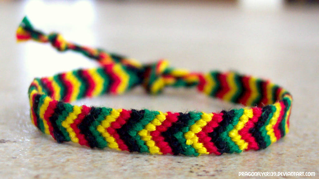 Rasta Chevron 1 I (Michelle) by DragonFlyer139