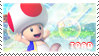 Mario Party 9: Toad Stamp by Capricious-Stamps