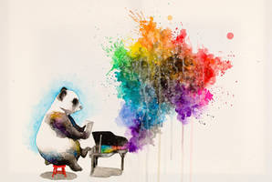 Color Of Music by Michael-Hafferty