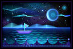 Sailing With The Moon by MomoMondblume
