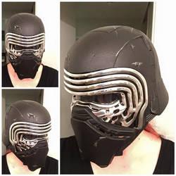 [Star Wars] Kylo Ren Helmet Test by BaconFlavoredCosplay