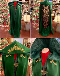 [RWBY] Wizard!Ozpin Cloak by BaconFlavoredCosplay