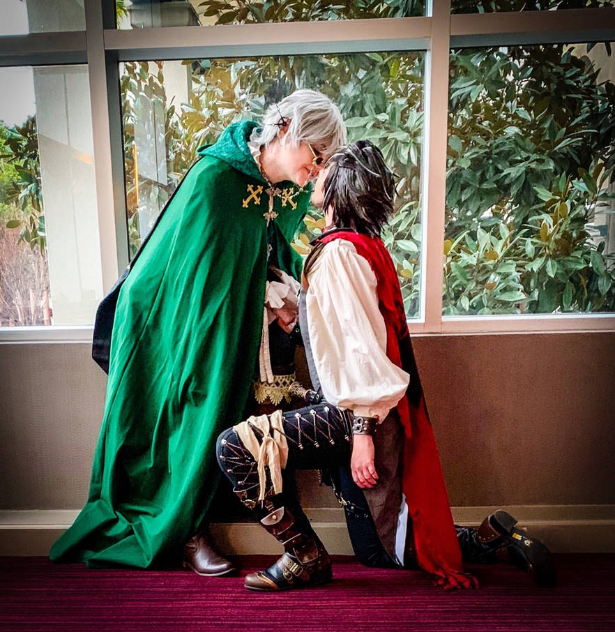 [RWBY AU] The Wizard and Familiar by BaconFlavoredCosplay