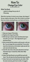 Eye Color Tutorial by sd-stock