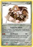 Hetalia Card: Hungary by Demmi-chan