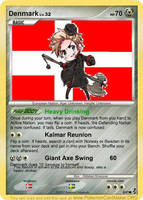 Hetalia Card: Denmark by Demmi-chan