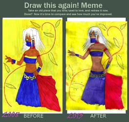 Draw This Again-meme by Demmi-chan