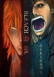 Bleach Ch.419 Cover Page by akamaruhei