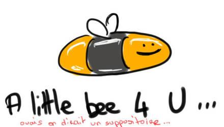 little bee by Mademoiselle-Yumi