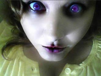 evil in your eyes by Yuiczek