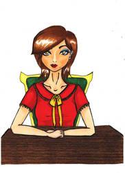 She is the boss by Yuiczek