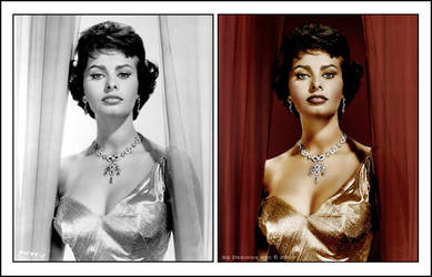 Sophia Loren b4 and after by xgnyc