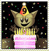 Fella Birthday Stamp by xgnyc