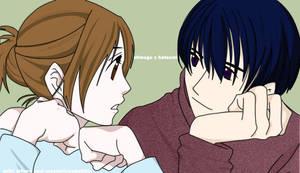 Shinogu + Hatsumi by mysteriousbubble
