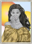 Beyonce Speedpaint Portrait by GiovyLoCa