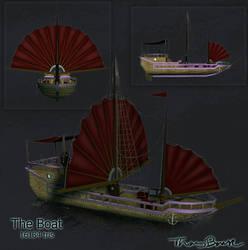 Silverhsine Boat by Sabotender