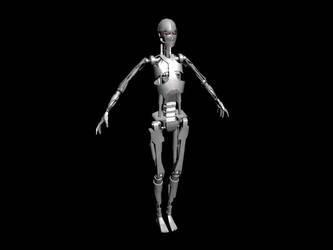 Female Robot by Sabotender