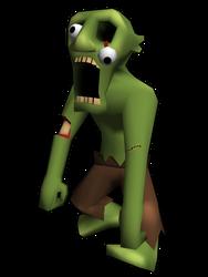 Cartoon Zombie by Sabotender