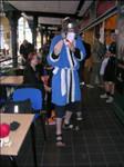 Me cosplaying Haku by Sabotender