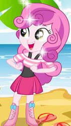Sweetie Belle eg by lilymouse385