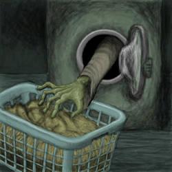 Sockenzombie by bertoltus