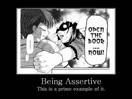 Being Assertive by PenguinMistress