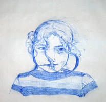 Girl Sketch To Hans Reusink by GMAC06