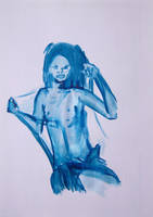 Blue Woman Series N. 8 by GMAC06