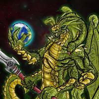 Yig serpent father by mca-jabberwok
