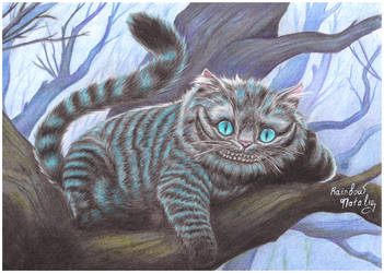Cheshire Cat by RainbowNatalia