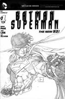 Superman Cover for Grant by jeffreyedwards
