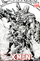 Cable-Hope cover redux Inks by jeffreyedwards
