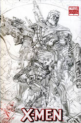 Cable-Hope cover redux Pencils by jeffreyedwards