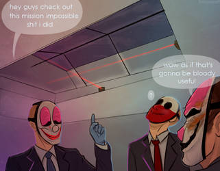 mission impossible: payday edition by zaffyrr