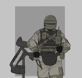 Tachanka by zaffyrr