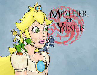 Mother of Yoshis by abouelse