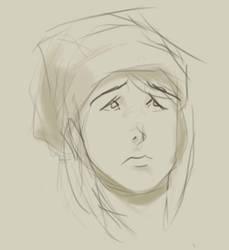 Self Portrait ish by cosenn