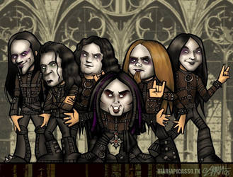 Cradle of Filth by lllaria