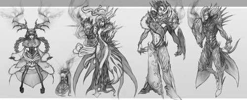Characters Design Vol.2 by Avasariah