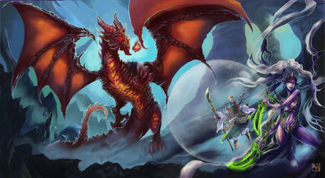 Skirmish In Red Dragon's Den - Contest by Avasariah