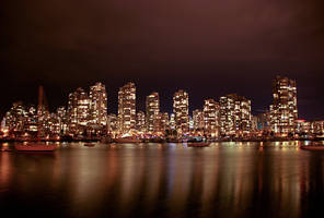 Downtown Vancouver by serban