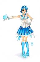 Sailor Lolita: Mercury by raspberryMCMLXXXIV