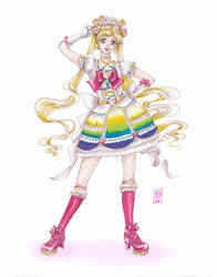 Sailor Lolita: Moon by raspberryMCMLXXXIV