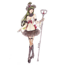 Sailor Pluto by raspberryMCMLXXXIV