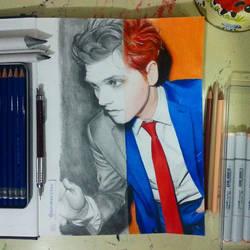 Gerard Way - Hesitant Alien by notapanicfan