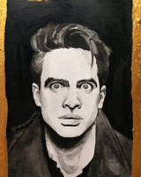 Brendon Urie - black ink by notapanicfan