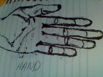 Hand by tucraz